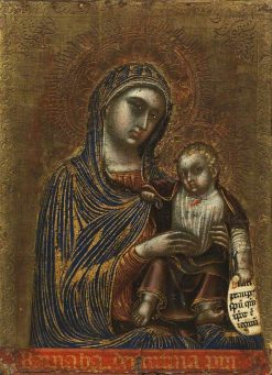 Virgin and Child | Barnaba da Modena | Oil Painting