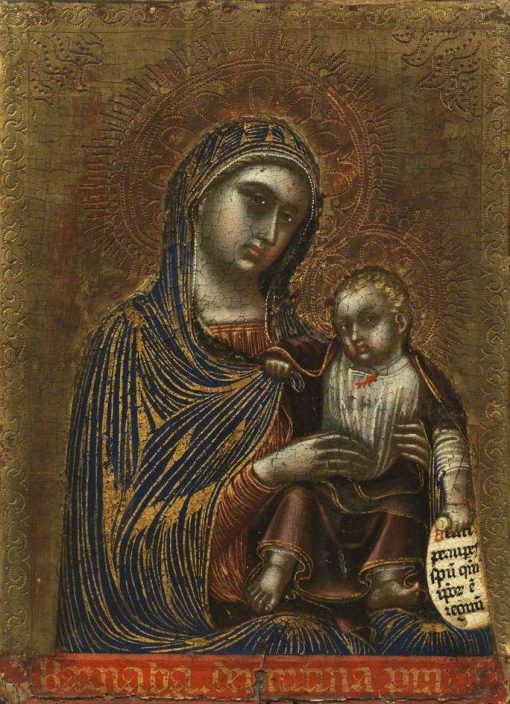 Virgin and Child | Barnaba da Modena | Oil Painting
