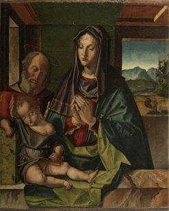 Holy Family | Bartolomeo Montagna | Oil Painting
