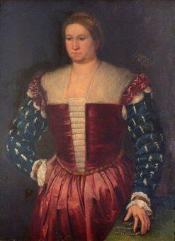 Portrait of a Lady | Bernardino Licinio | Oil Painting