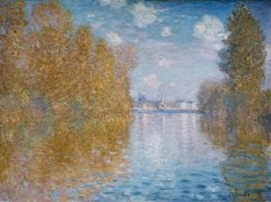 Autumn Effect at Argenteuil | Claude Monet | Oil Painting