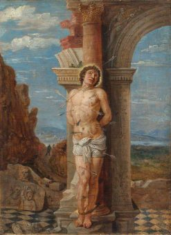 Saint Sebastian (after Andrea Mantegna) | David Teniers II | Oil Painting