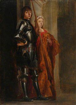 Saints George and Cecilia (after Antonello da Messina) | David Teniers II | Oil Painting