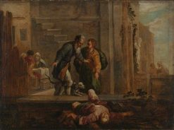 Tobit and the Dead Israelite (after Domenico Fetti) | David Teniers II | Oil Painting