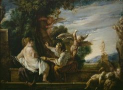 Vertumnus and Pomona | Domenico Fetti | Oil Painting