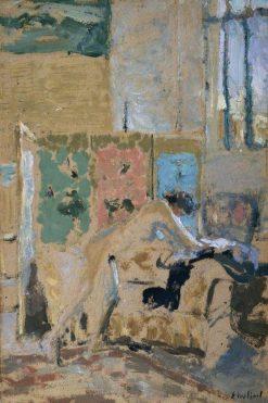 Interior with a Screen | Edouard Vuillard | Oil Painting