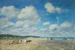 Deauville | Eugene Louis Boudin | Oil Painting