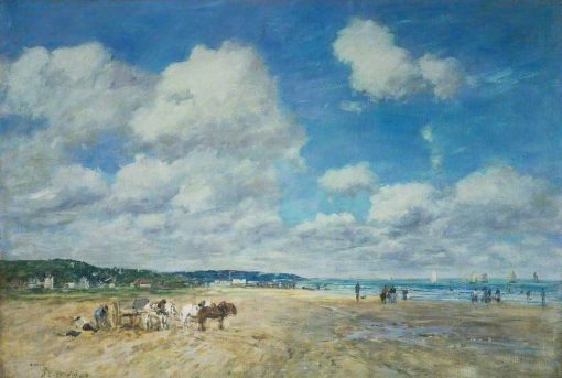 Deauville | Eugene Louis Boudin | Oil Painting