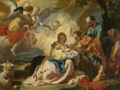 Rest on the Flight into Egypt | Francesco de Mura | Oil Painting