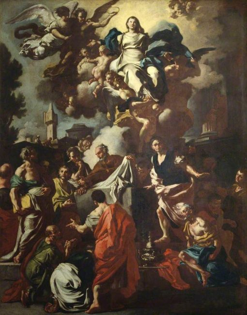 Assumption of the Virgin | Francesco Solimena | Oil Painting