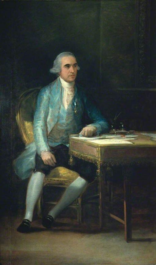 Don Francisco de Saarvedra | Francisco de Goya y Lucientes | Oil Painting