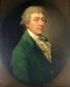 Self Portrait (copy after Thomas Gainsborough) | Gainsborough Dupont | Oil Painting