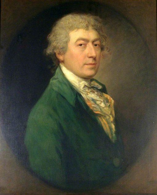 Self Portrait (copy after Thomas Gainsborough)   Gainsborough Dupont   Oil Painting