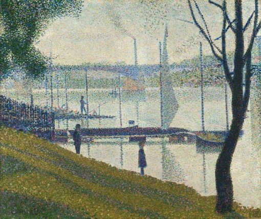 Bridge at Courbevoie | Georges Seurat | Oil Painting