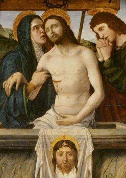 Lamentation over the Dead Christ | Gian Francesco de Maineri | Oil Painting