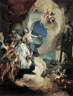 Saint Aloysius Gonzaga in Glory | Giovanni Battista Tiepolo | Oil Painting