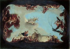 Allegory of the Power of Eloquence   Giovanni Battista Tiepolo   Oil Painting