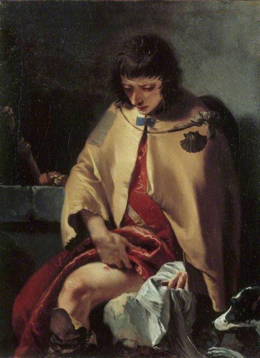 Saint Roch   Giovanni Battista Tiepolo   Oil Painting