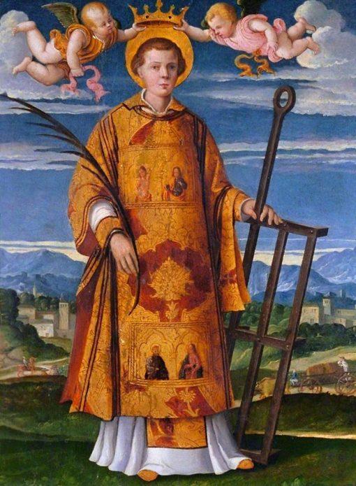 Saint Lawrence | Girolamo da Santa Croce | Oil Painting