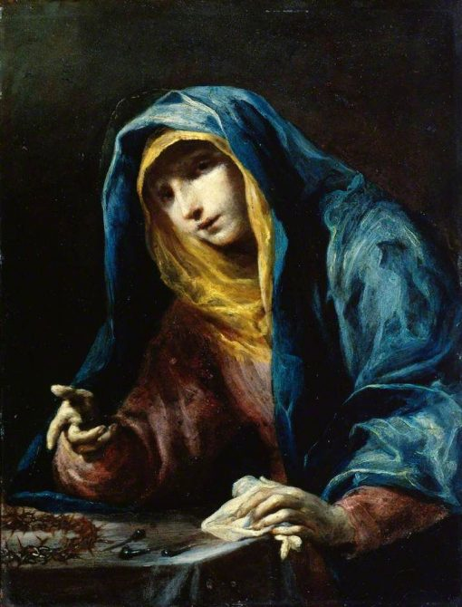 Virgin with the Instruments of the Passion | Giuseppe Maria Crespi | Oil Painting