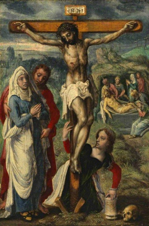 Christ on the Cross | Jan Sanders van Hemessen | Oil Painting