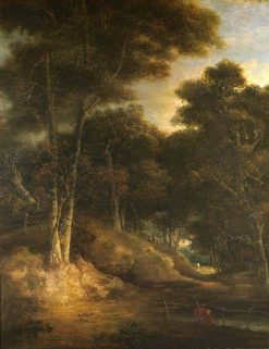 Landscape - Edge of a Wood | John Crome | Oil Painting