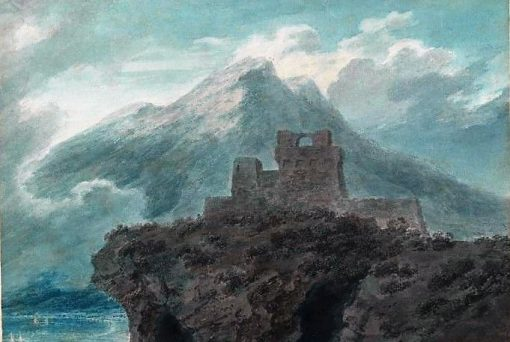 A Ruined Fort near Salerno | John Robert Cozens | Oil Painting