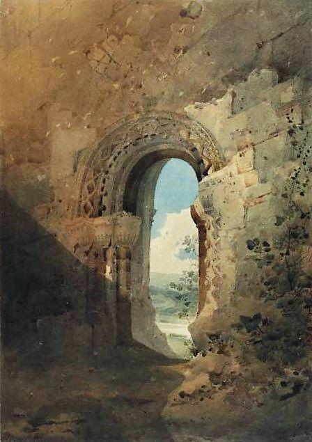 Doorway to the refectory