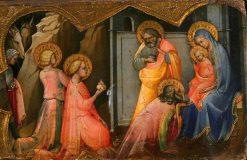 Adoration of the Magi | Lorenzo Monaco | Oil Painting