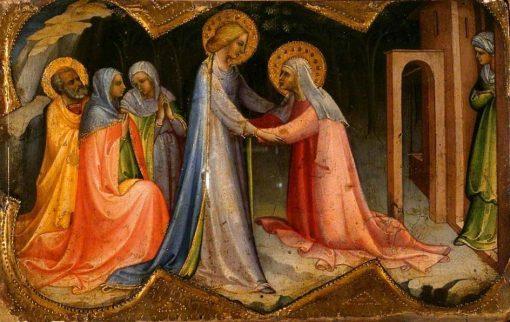Visitation   Lorenzo Monaco   Oil Painting