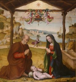 The Nativity | Mariotto Albertinelli | Oil Painting