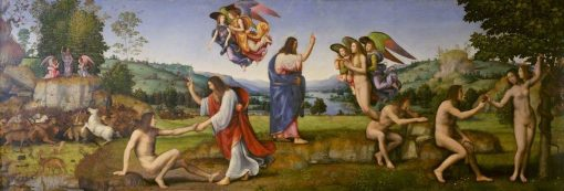 Creation and Fall of Man | Mariotto Albertinelli | Oil Painting