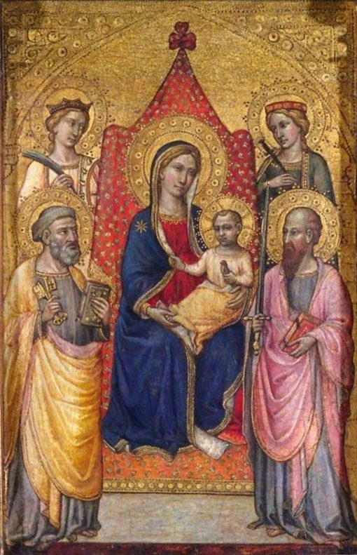 Virgin and Child Enthroned with Saints Peter
