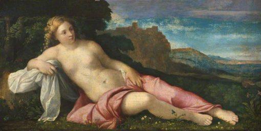 Venus in a Landscape | Palma il Vecchio | Oil Painting
