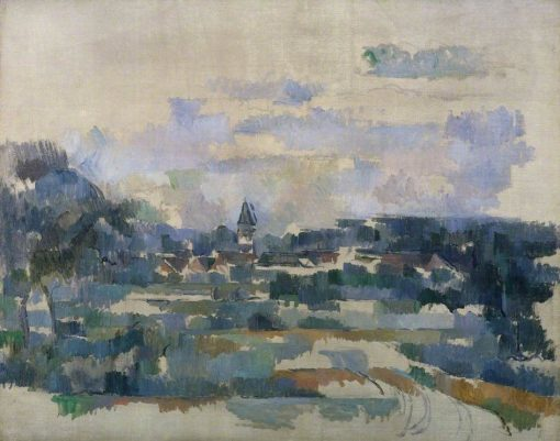 Route Tournante(also known as Turning Road) | Paul CEzanne | Oil Painting