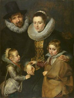 Family of Jan Brueghel the Elder | Peter Paul Rubens | Oil Painting