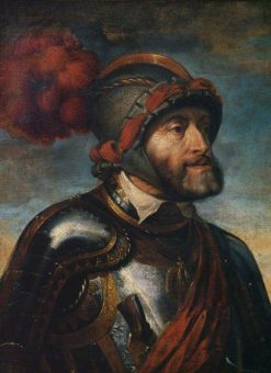 Emperor Charles V (after Titian)   Peter Paul Rubens   Oil Painting