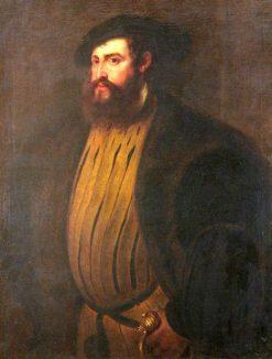 Hernan Cortez (?) - After Titian | Peter Paul Rubens | Oil Painting