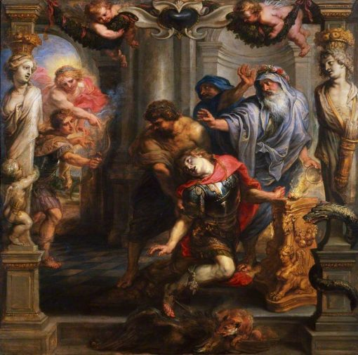 Death of Achilles | Peter Paul Rubens | Oil Painting
