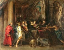 Sacrifice in a Temple | Peter Paul Rubens | Oil Painting