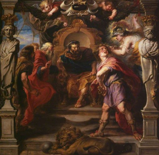 Wrath of Achilles | Peter Paul Rubens | Oil Painting