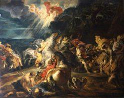Conversion of Saint Paul   Peter Paul Rubens   Oil Painting