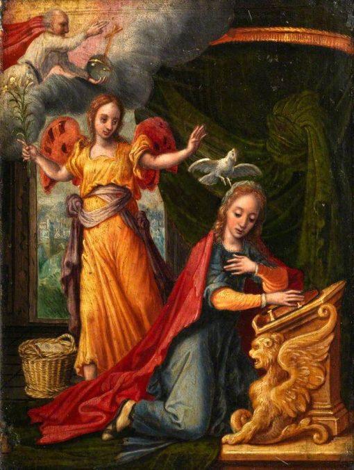 Annunciation | Pieter Aertsen | Oil Painting
