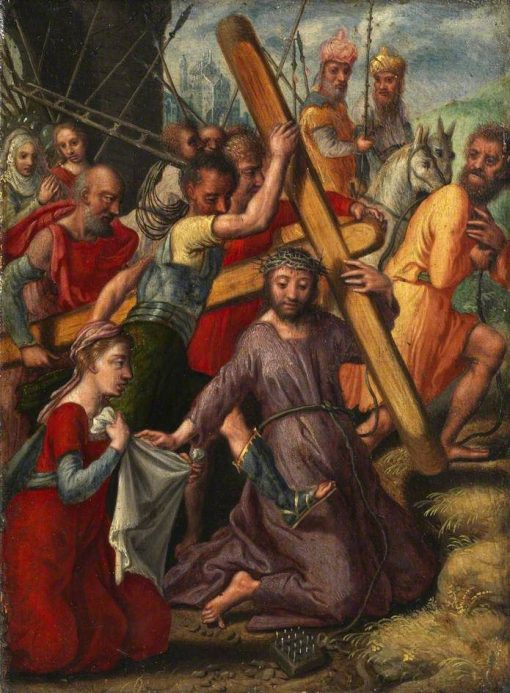Christ Bearing the Cross (verso) | Pieter Aertsen | Oil Painting