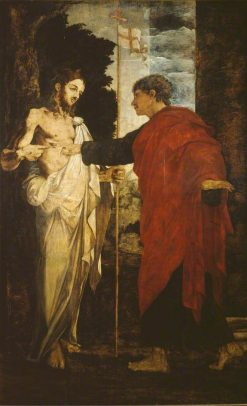 Incredulity of Saint Thomas | Polidoro da Caravaggio | Oil Painting