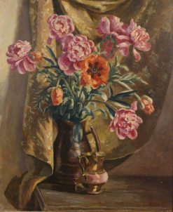 Peonies and Poppies | Roger Eliot Fry | Oil Painting