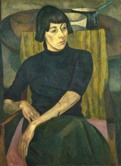 Portrait of Nina Hamnett | Roger Eliot Fry | Oil Painting