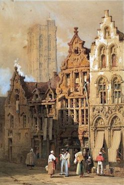 Malines | Samuel Prout | Oil Painting