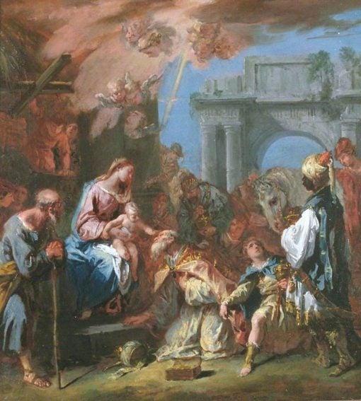 Adoration of the Magi | Sebastiano Ricci | Oil Painting