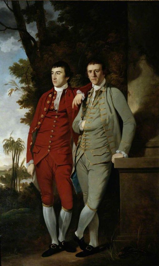 Charles and Captain John Sealy | Tilly Kettle | Oil Painting